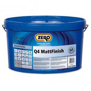 q4 mattfinish zero farben und lacke. Black Bedroom Furniture Sets. Home Design Ideas
